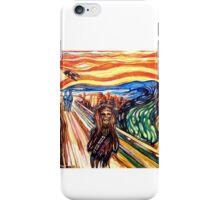 The Wookie Scream - David Blancas iPhone Case/Skin