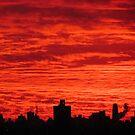 New York City skies by Alberto  DeJesus