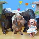 Dachshund Love by DebiCady