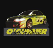 Brian O'Conner COLLECTION CARS #3 by M&J Fashion Graphic