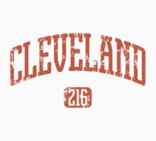 Cleveland 216 (Orange Print) Kids Clothes