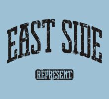 East Side Represent (Black Print) Kids Clothes