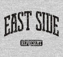 East Side Represent (Black Print) by smashtransit
