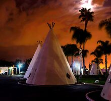 Route 66 Motel by don thomas