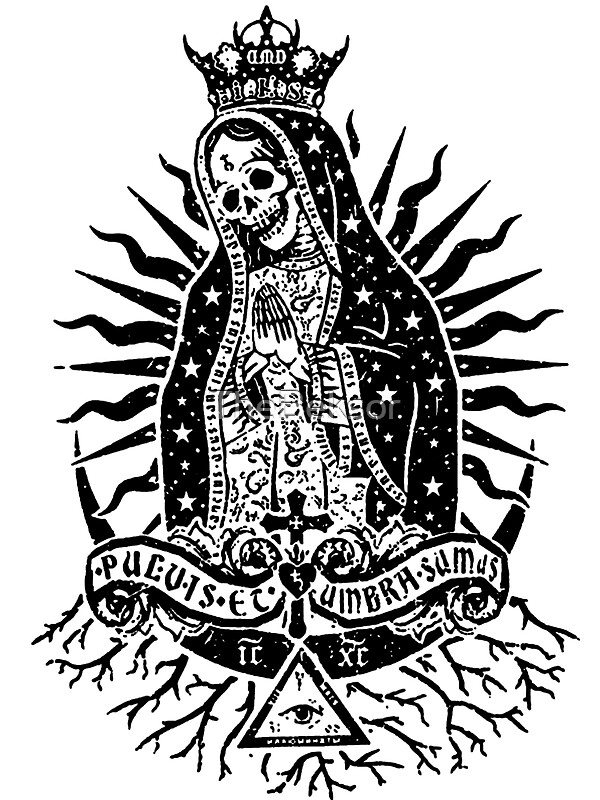 1000 images about santa muerte on pinterest. Black Bedroom Furniture Sets. Home Design Ideas
