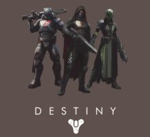 destiny guardians t-shirt by Fizziponi