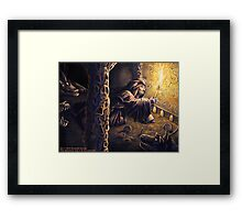 Ruins of The Nameless City Framed Print
