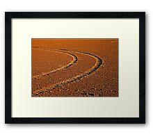 Serengeti Traces Framed Print