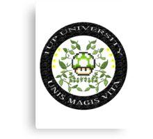 1-Up University Canvas Print