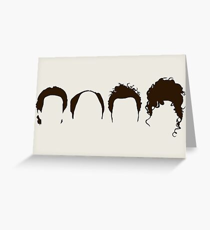 Seinfeld Hair Greeting Card