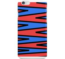 red & blue striped KANDY ™   iphone case iPhone Case/Skin