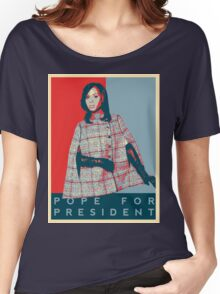 Scandal's 'Pope For President' T-Shirt Women's Relaxed Fit T-Shirt