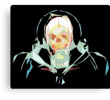 Lost in Space (black) Canvas Print