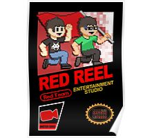 Red Reel - NES Box Art Poster