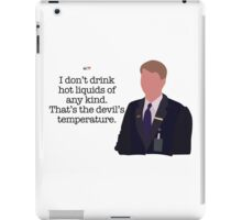 Kenneth Parcell The Devil's Temperature iPad Case/Skin