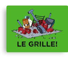 Le Grille! Canvas Print