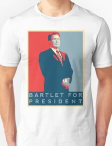 The West Wing's 'Bartlet For President' T-Shirt T-Shirt
