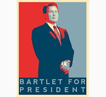 The West Wing's 'Bartlet For President' T-Shirt Women's Fitted Scoop T-Shirt