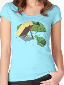 Turtle Trap Women's Fitted Scoop T-Shirt