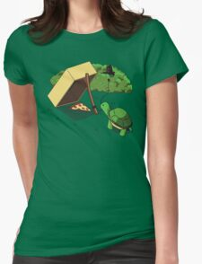 Turtle Trap Womens Fitted T-Shirt
