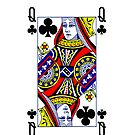 Smartphone Case - Queen of Clubs by Mark Podger