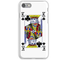 Smartphone Case - King of Clubs iPhone Case/Skin