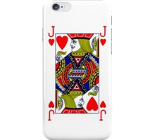 Smartphone Case - Jack of Hearts iPhone Case/Skin