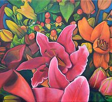 Market Flowers by Lori Elaine Campbell