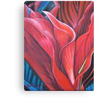Flame Flower Canvas Print