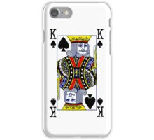 Smartphone Case - King of Spades iPhone Case/Skin
