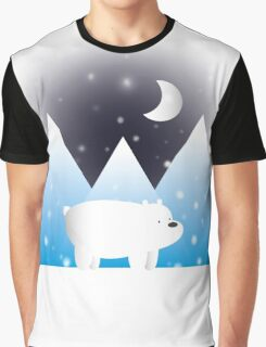 Ice Bear & Snow - We Bare Bears Graphic T-Shirt