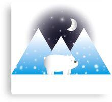 Ice Bear & Snow - We Bare Bears Canvas Print