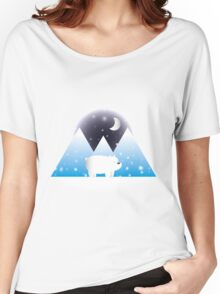 Ice Bear & Snow - We Bare Bears Women's Relaxed Fit T-Shirt