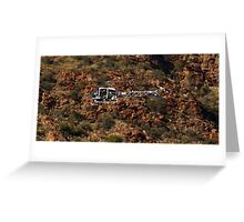 Scenic Flight Greeting Card