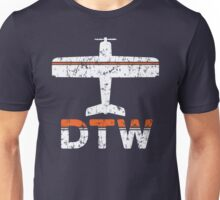 Fly Detroit DTW Airport Unisex T-Shirt