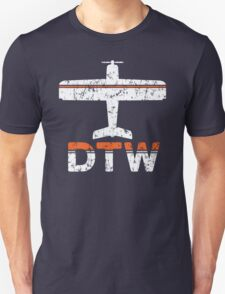 Fly Detroit DTW Airport T-Shirt