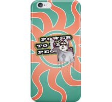 Power To The People - Dog 2 iPhone Case/Skin