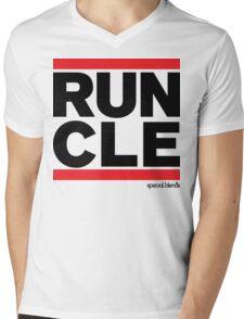 Run Cleveland (v1) Mens V-Neck T-Shirt