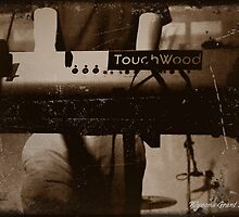 Touchwood Keyboard Print/Card/Poster by Wynona Grant