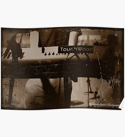 Touchwood Keyboard Print/Card/Poster Poster