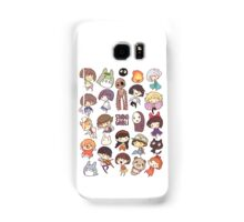 Studio Ghibli - Chibi Characters Collaboration [VERTICAL] Samsung Galaxy Case/Skin