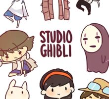 Studio Ghibli - Chibi Characters Collaboration [VERTICAL] Sticker