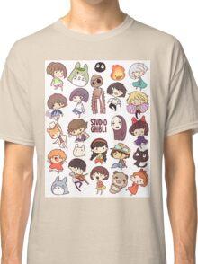 Studio Ghibli - Chibi Characters Collaboration [VERTICAL] Classic T-Shirt