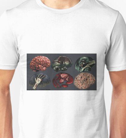 Zombie Illustration Assignment Unisex T-Shirt