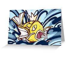 Shiny Magikarp | Splash Greeting Card