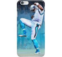 Cam Newton Touchdown celebration iPhone Case/Skin