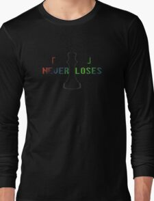 Blank Never Loses Long Sleeve T-Shirt