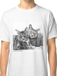 Arya and Dante Portrait Classic T-Shirt