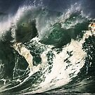 Monster Waves At Waimea Bay by Alex Preiss