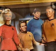 Star Trek Barbie and Ken by Keala